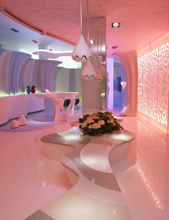 Karim Rashid Inc.-Smart-ologic Corian® Living