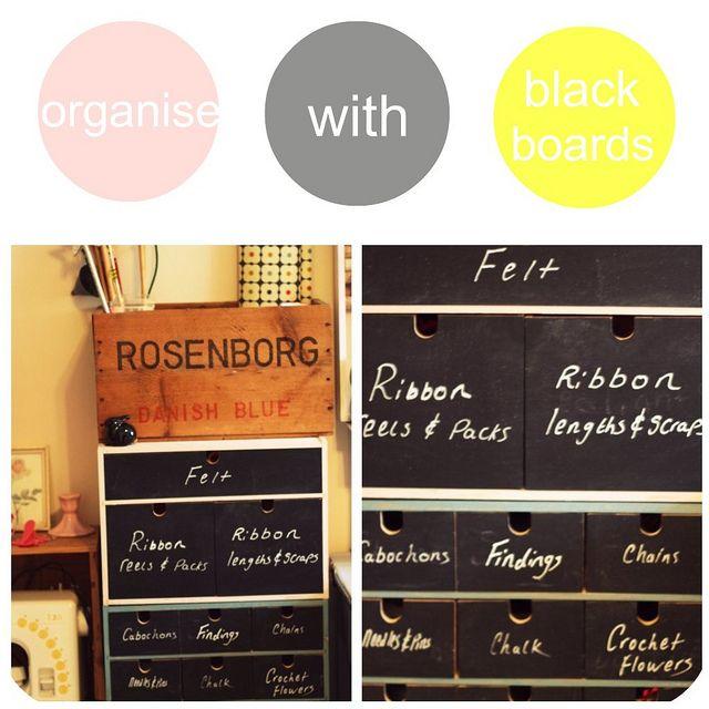 love this simple DIY for organising bits