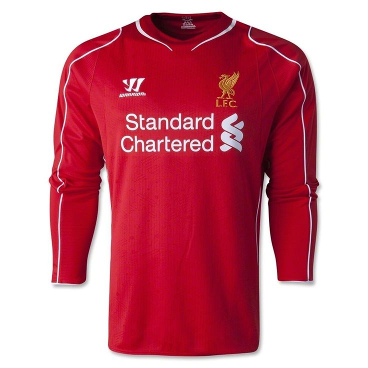 Liverpool Football Club Home Jersey 2014 to 2015 Extra Large Adult XL Warrior #Warrior