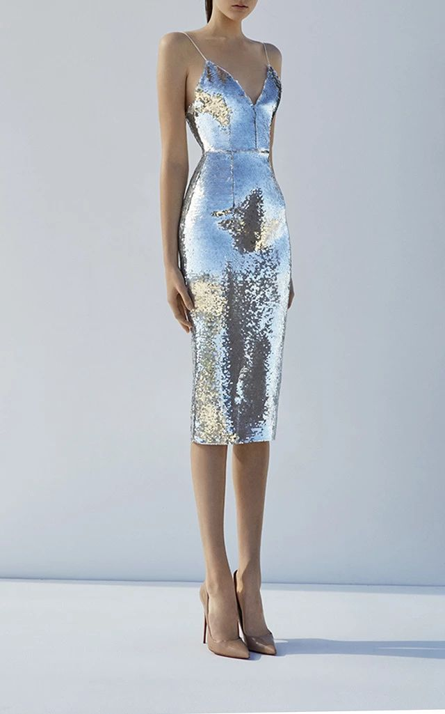 Leighton Lady Dress by ALEX PERRY for Preorder on Moda Operandi
