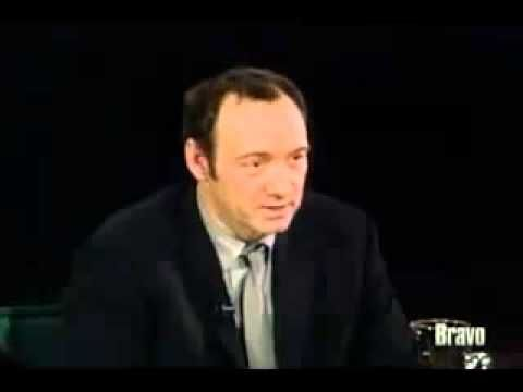 "Kevin Spacey on Being Successful. ""There is no prize. . .out there. . ."""
