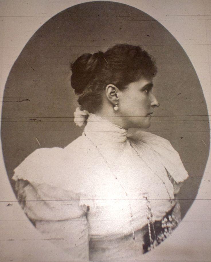 """Empress Alexandra Feodorovna of Russia. """"AL"""""""