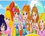 Em Princesas Disney Winx Club, as Princesas Disney foram visitar as Winx e decidiram mudar o seu visual para ficar parecidas com fadas. Junte-se a Elsa, Cinderela, Rapunzel, Branca de Neve, Ariel e todas as outras princesas e escolha o melhor visual de fadas para elas. Divirta-se com as Princesas Disney!