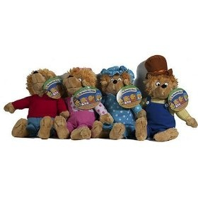 Berenstain Bears Plush Dolls