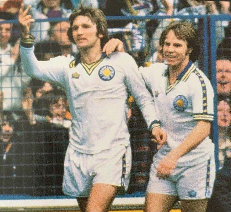 Tony Currie and Arthur Graham. Leeds United 1978