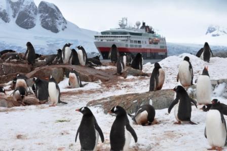 Hurtigruten Ship - Antarctica