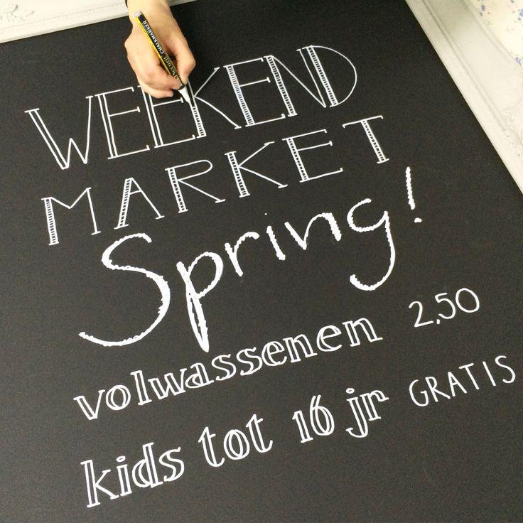 Van onze tafel Weekendmarket styling!  www.vanonzetafel.nl