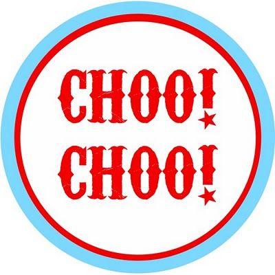 Choo! Choo! Free train party printables + ideas