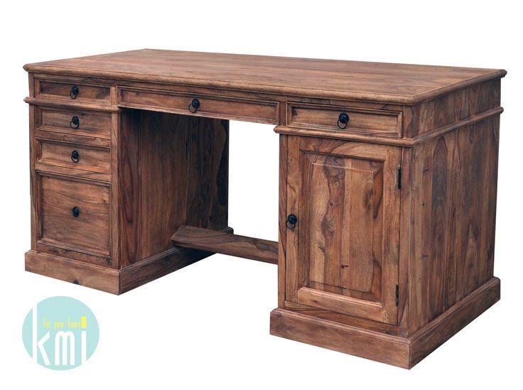 kolonialne biurko LD-902 natural