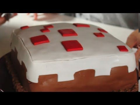Minecraft Cake, Feast of Fiction Ep. 3 - YouTube