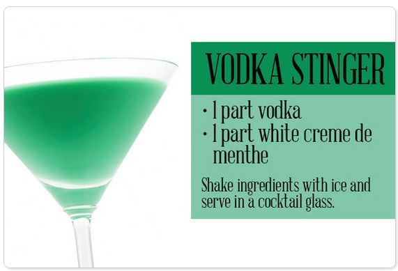 how to make a stinger drink