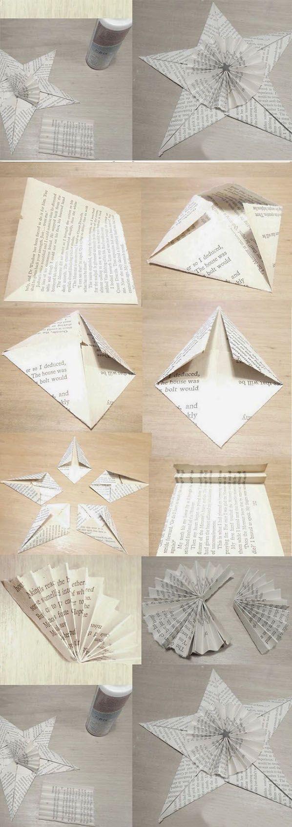 Easy Paper Star | DIY & Crafts Tutorials