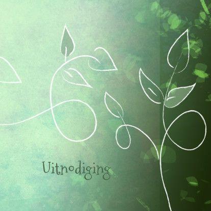 bloemenkaart met tekening - Bloemenkaarten - Kaartje2go