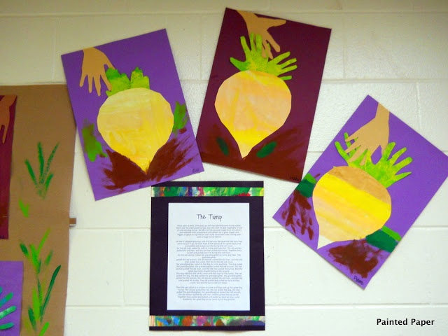 Craft to do with The Enormous Turnip