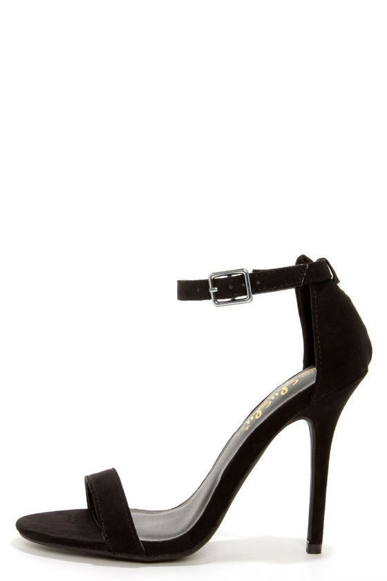The 25  best Single strap heels ideas on Pinterest | Strap heels ...