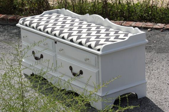 White Lane Cedar Chest with Custom Cushion top hope blanket chest
