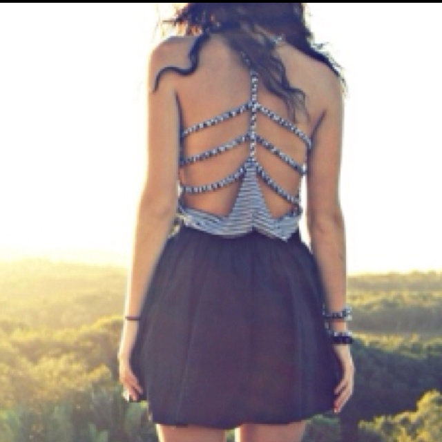 dainty devilSummer Dresses, Cutout, Fashion, Summer Outfit, Style, Backless Dresses, Cut Out, Open Back, Back Details