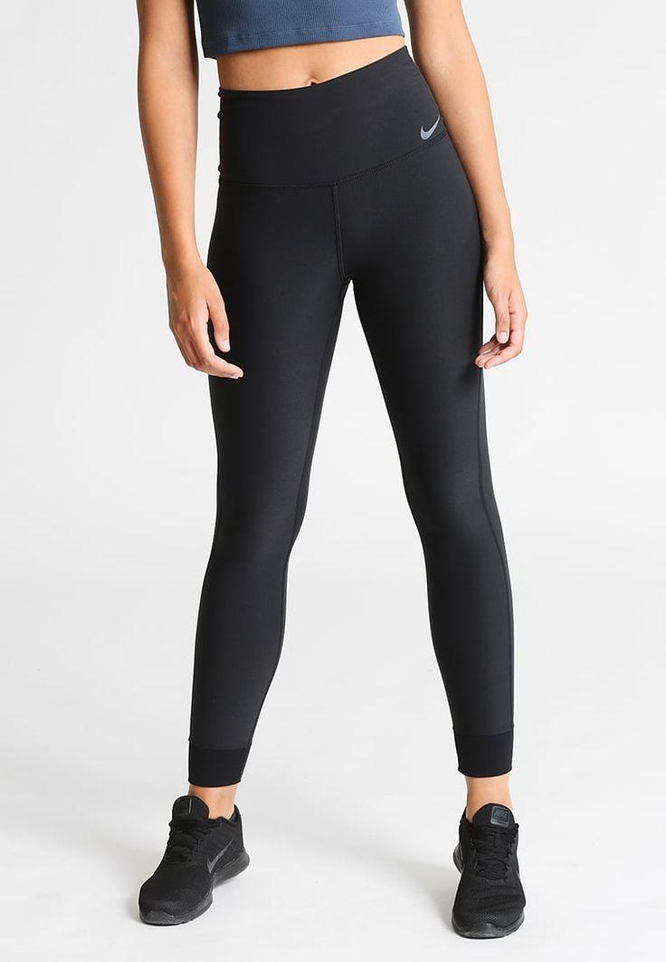 Nike Performance POWER LEGEND - Tights - black/white - Zalando.no