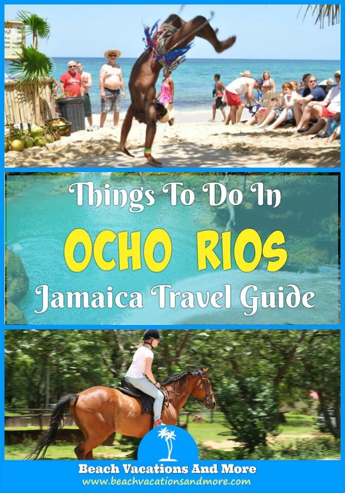 Top fun things to do in Ocho Rios, Jamaica - Water sports, tubing, horseback and camel riding, shark encounters and more activities and attractions
