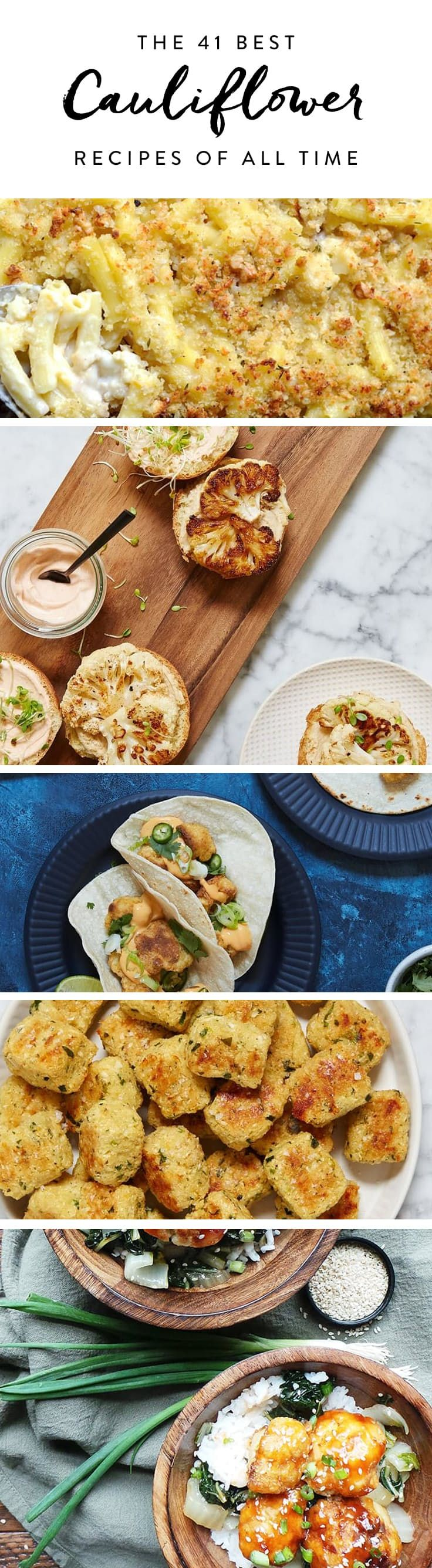 The 41 Best Cauliflower Recipes of All Time via @PureWow