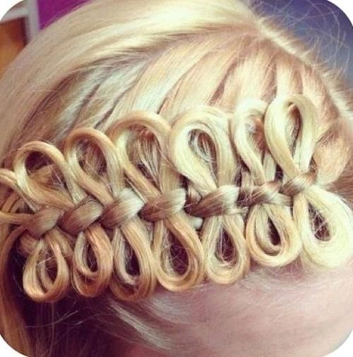 Bow braid. Super cool!