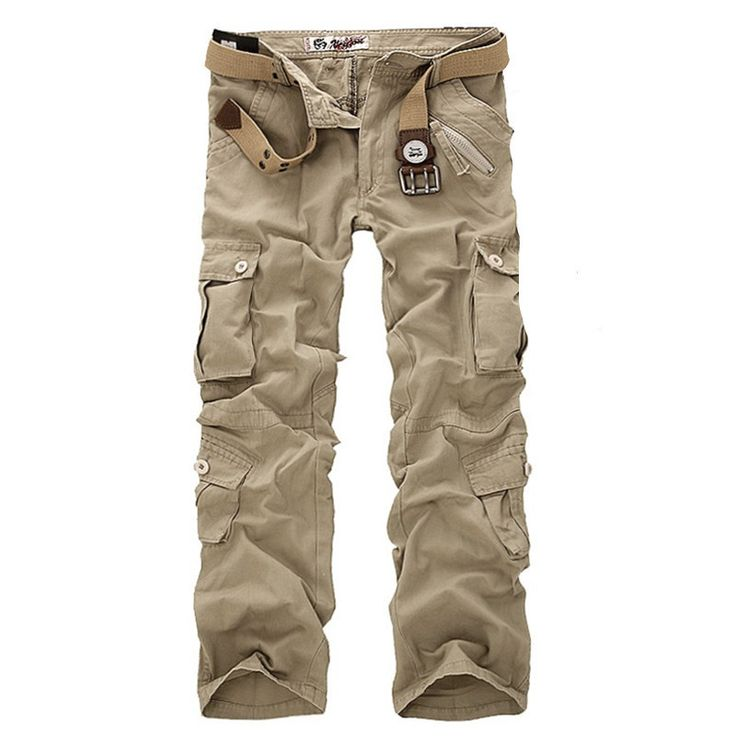 Mens Assorted Camo Cargo Tactical Pants