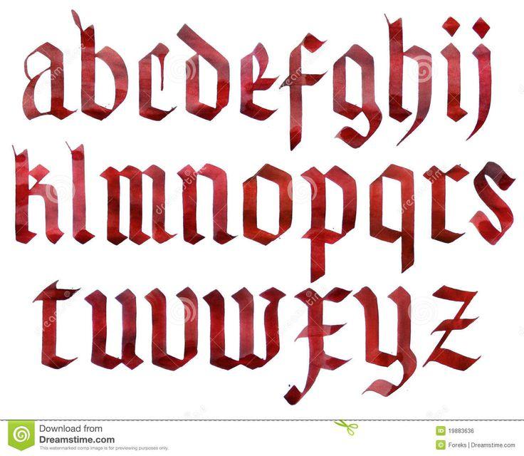 font alphabet - Google Search