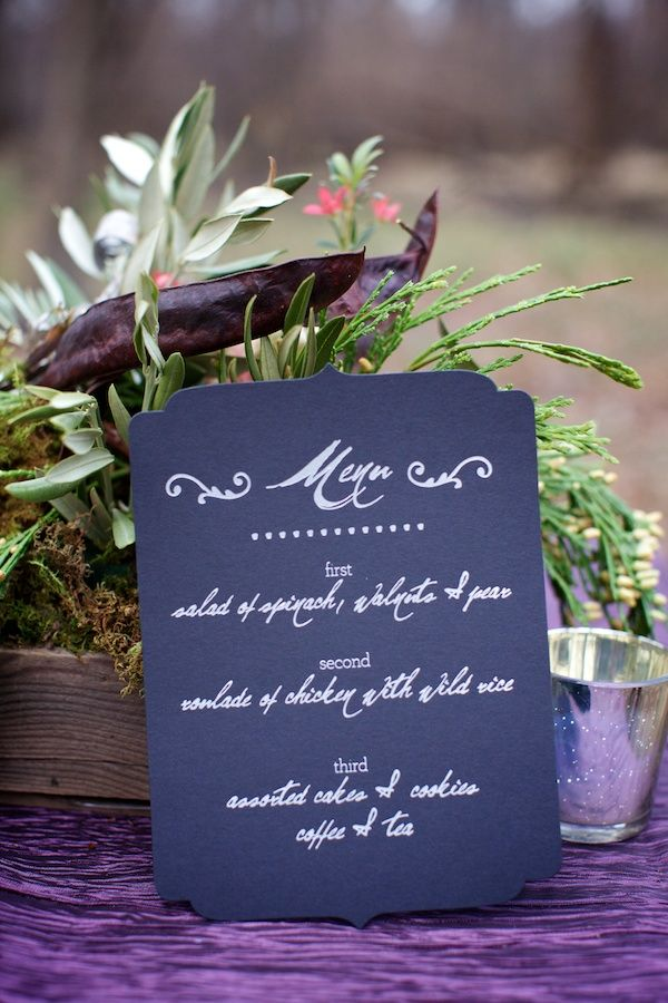 Chicago Woodland Wedding Inspiration on http://ruffledblog.com