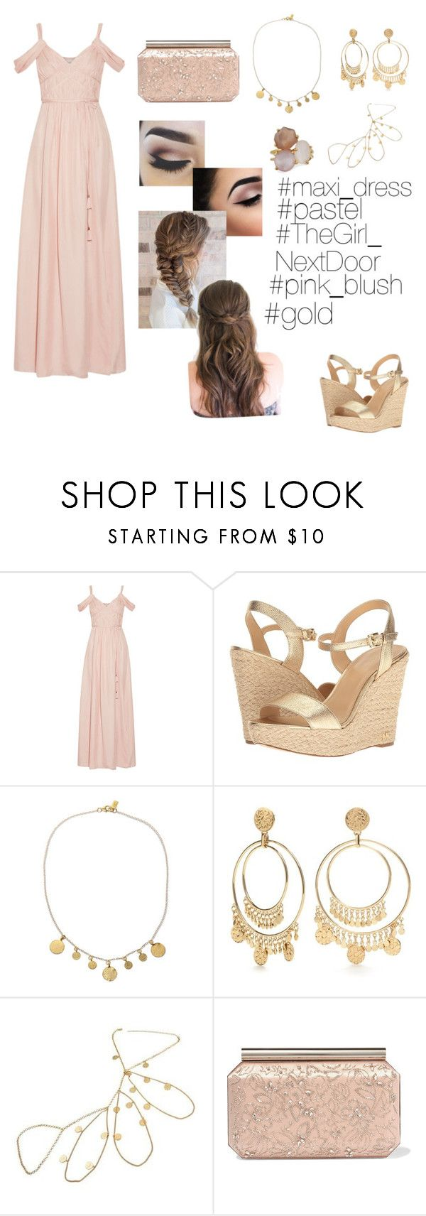 """Pastel??"" by devanshimallick ❤ liked on Polyvore featuring Rachel Zoe, MICHAEL Michael Kors, Electric Picks, Kate Spade, Oscar de la Renta and Ippolita"