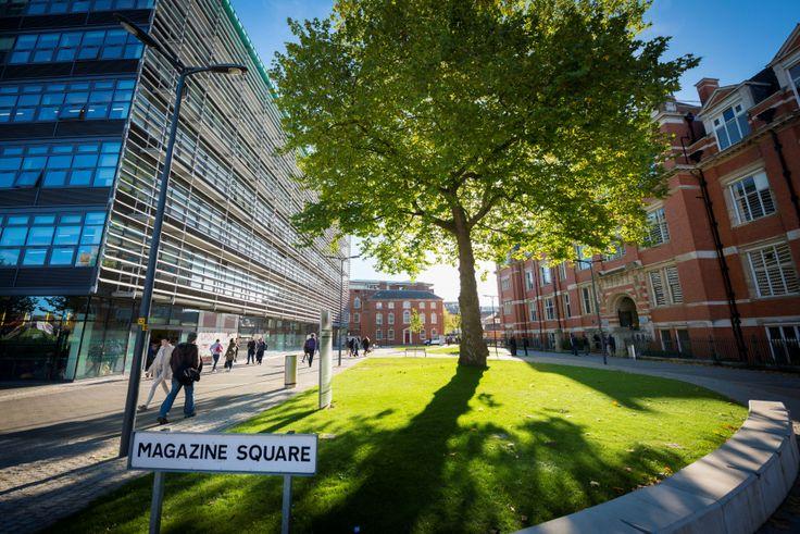 Magazine Square on De Montfort University's Leicester city centre campus.
