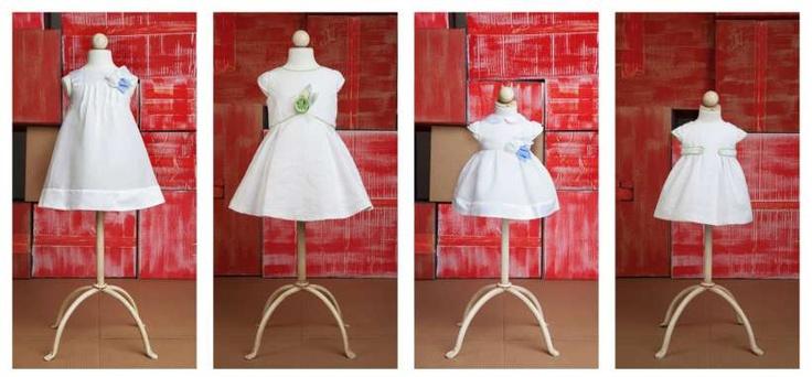 Vestido blanco niña Fina Ejerique   white dress Fina Ejerique moda infantil