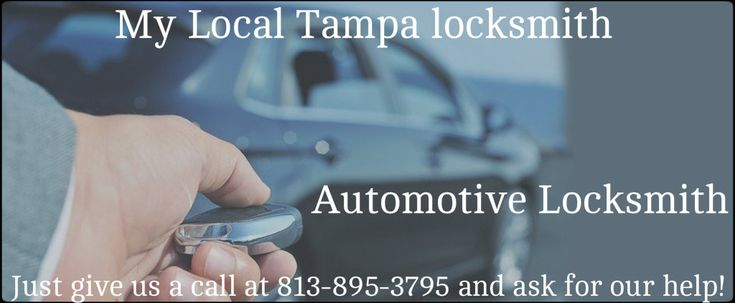 My Local Locksmith Tampa is a leading name in Tampa locksmith industry, providing highly-efficient, superior standard solutions to clients. We have highly efficient locksmith Tampa, available 24/7 to serve Automotive Locksmith in Tampa FL. See More Details: http://mylocaltampalocksmith.com/automotive-locksmith.html