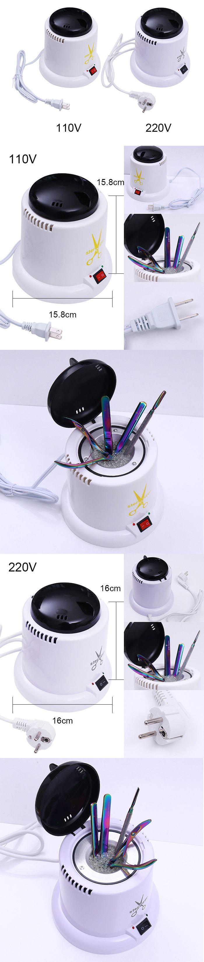 1 Pc 110 V/220 V Temperatura Esterilizador Caixa de Desinfecção de Máquinas de Bola De Vidro Manicure Ferramenta Da Arte Do Prego em Formato Para Unha de Beleza & Saúde no AliExpress.com   Alibaba Group