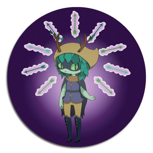 Adventure Time Huntress Wizard button