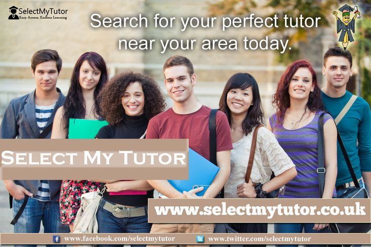 Search for your perfect #tutor near your area today. #tutor #tutors #personaltutor #SMT www.selectmytutor.co.uk