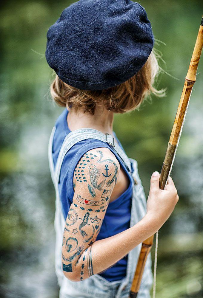 DIY : faire des faux tatouages pour vos enfants ! DIY: Make fake tattoos for your kids!