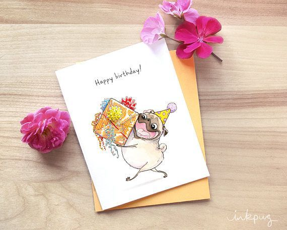 Wrapped it myself pug birthday cards cute birthday cards unique wrapped it myself pug birthday cards cute birthday cards unique happy birthday card m4hsunfo