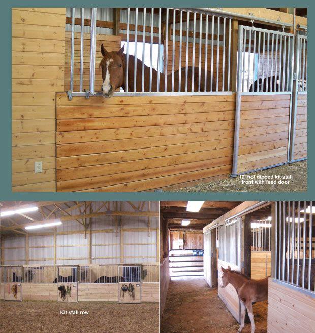Horse Stall Kit Modular Horse Stall Kits By Triton Barn