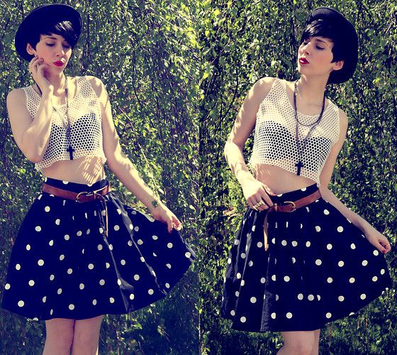 cute skirt and bandeau: Clothing Fashion Etc, Headband, Style, Polka Dots Skirts, Outfit, Songs Hye-Kyo, Love Songs, Cute Skirts, New Love