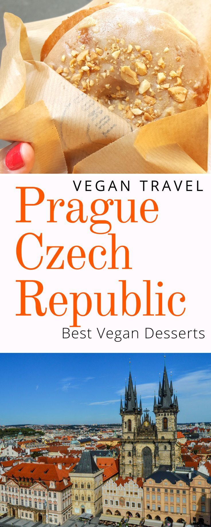 Best Vegan Desserts in Prague: Donuts, Cakes, Ice Cream, and more. Click here to find out the best places to get vegan dessert in Prague Czech Republic.