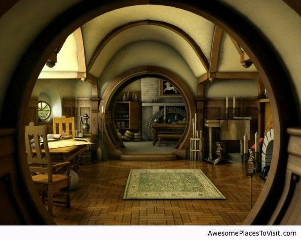 I think I'd rather like to live in a Hobbit hole.