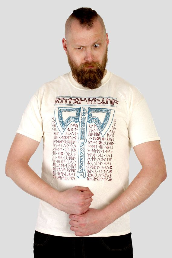 Baruk Khazad - Tolkien / Lord of the Rings inspired dwarven Men's t-shirt, screen printed by hand