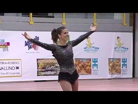 Monica Gimeno - SP - European 2015 - Ponte Di Legno - YouTube