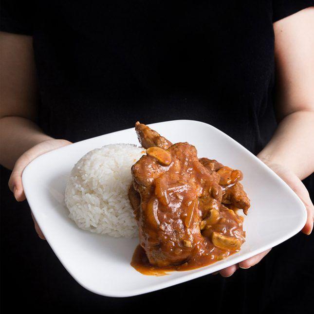 Easy Instant Pot Recipes: Instant Pot Pork Chops in HK Tomato Sauce