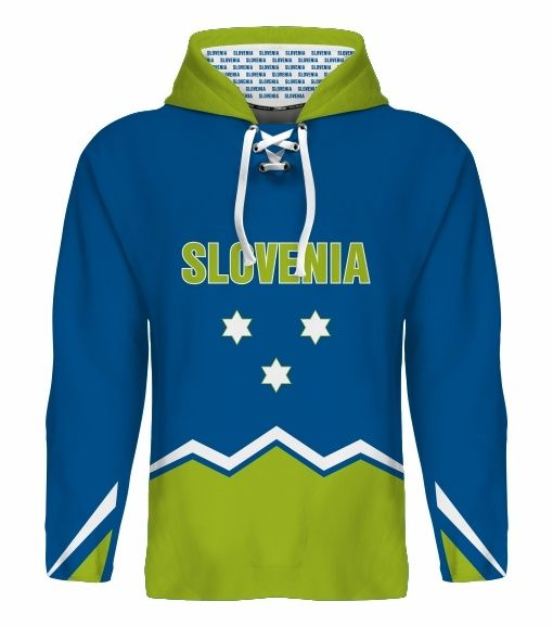 NEW 2015 Slovenia Hockey World Cup Hoodie NHL Anze Kopitar Mursak Rodman Ticar