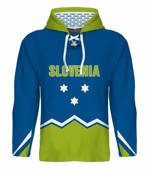 NEW 2015 Slovenia Hockey World Cup Hoodie NHL Anze Kopitar Mursak Rodman Ticar