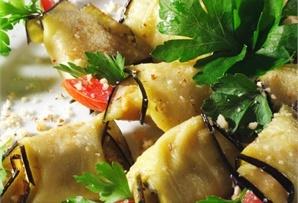 Roladki bakłażanowe / Eggplant rolls  www.winiary.pl