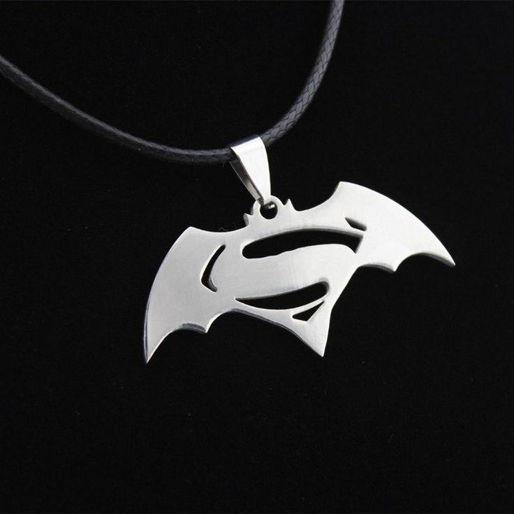 Batman Silver Necklace //Price: $7.8 & FREE Shipping //     {#hashtag1|#hashtag2|#hashtag3|#