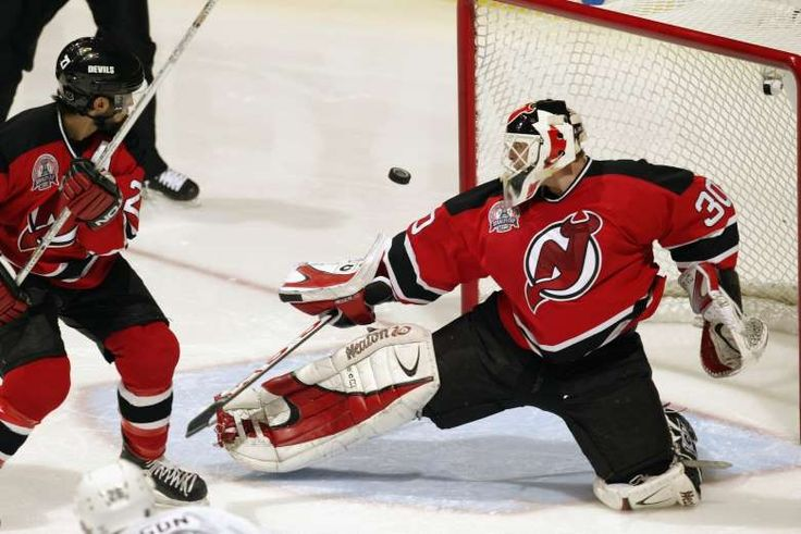 NHL goaltenders that carried their teams to the Stanley Cup Final  -  May 2, 2017:    MARTIN BRODEUR:  With all the accolades and records, it is no wonder that Martin Broduer also had some killer post seasons under his belt. In winning his third Stanley Cup with the New Jersey Devils in 2003, he set the single playoffs record for shutouts at seven.