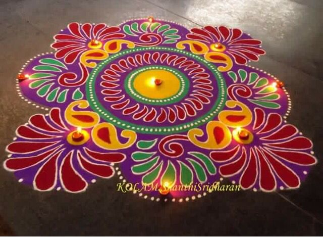 136 Best Rangoli Competition Images On Pinterest